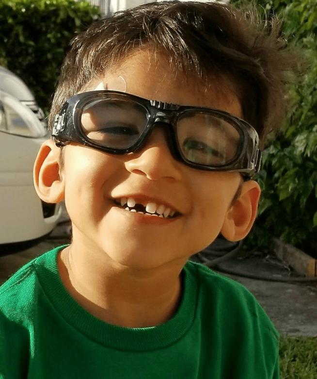 logan and glasses