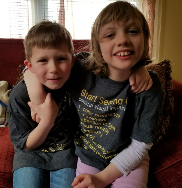 Rheanon and t-shirt